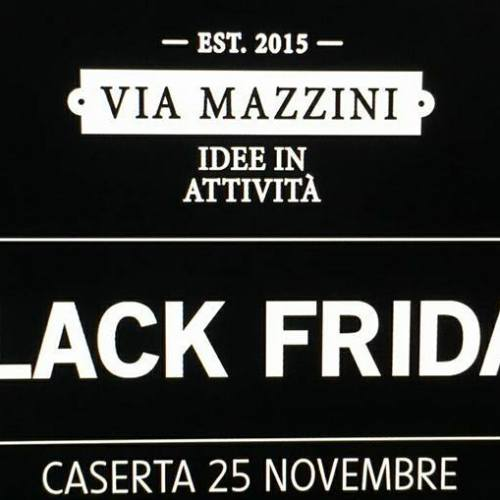 I Love Shopping? No problem, Black Friday in via Mazzini