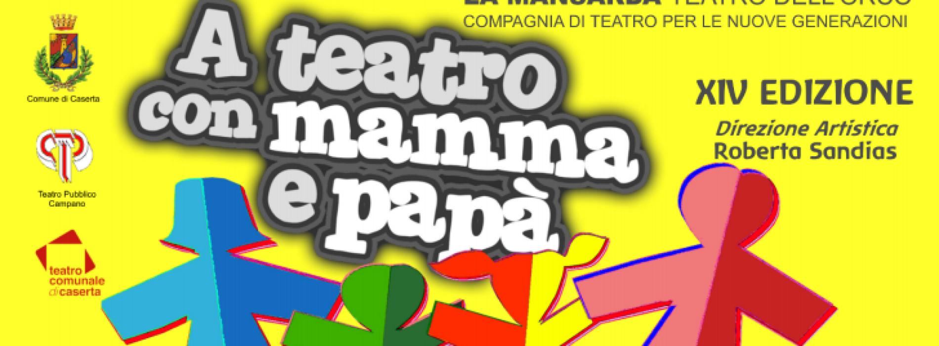 Ritorna la rassegna A Teatro con Mamma e Papà