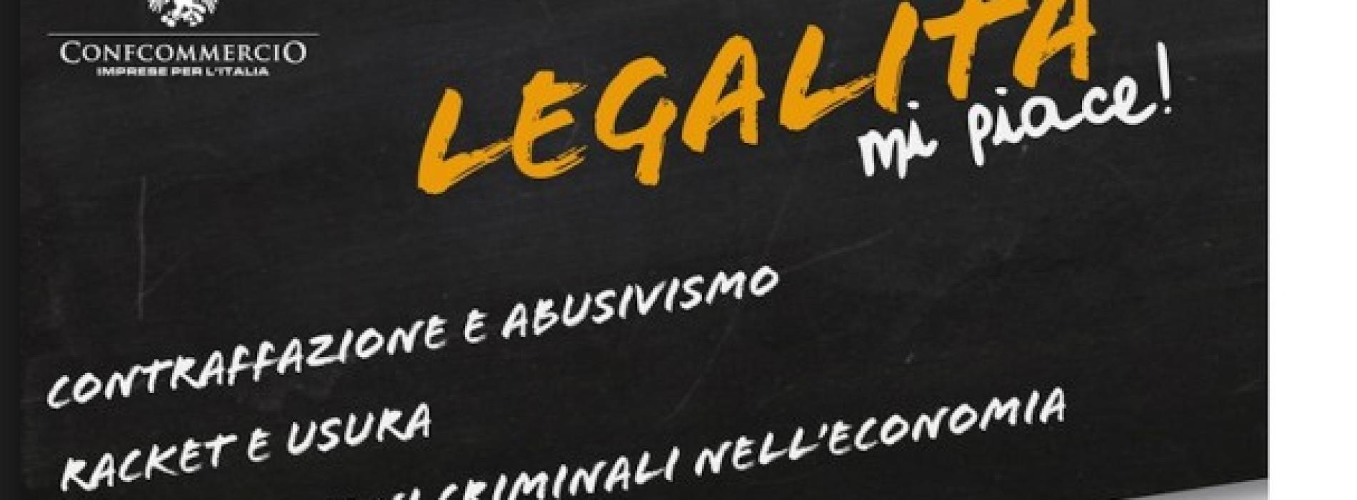 Legalità, mi piace. Giornata nazionale di Confcommercio