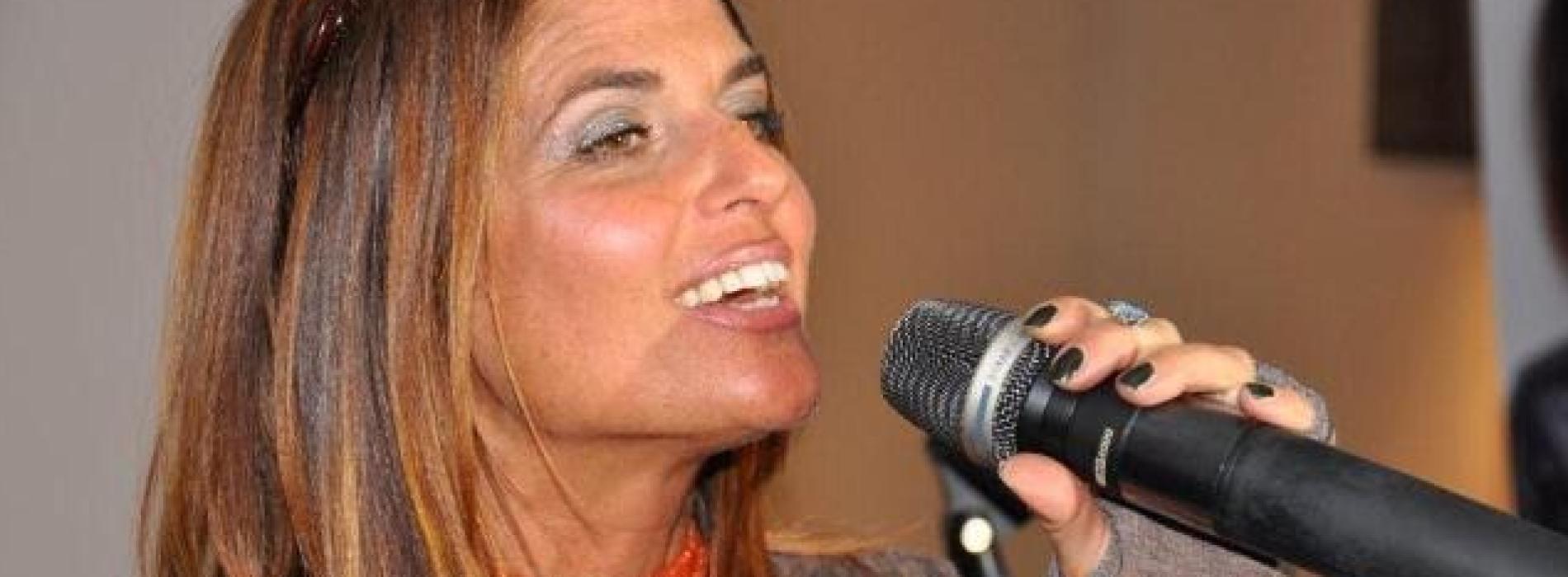 Monica Sarnelli al Moro di Cava dè Tirreni