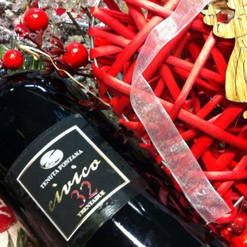 Il Natale si tinge di rosso con il Falerno di Tenuta Fontana
