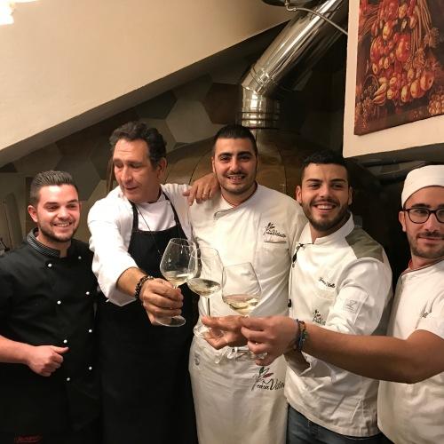 Natale in Casa Vitiello, ovvero la pizza rivista dagli chef
