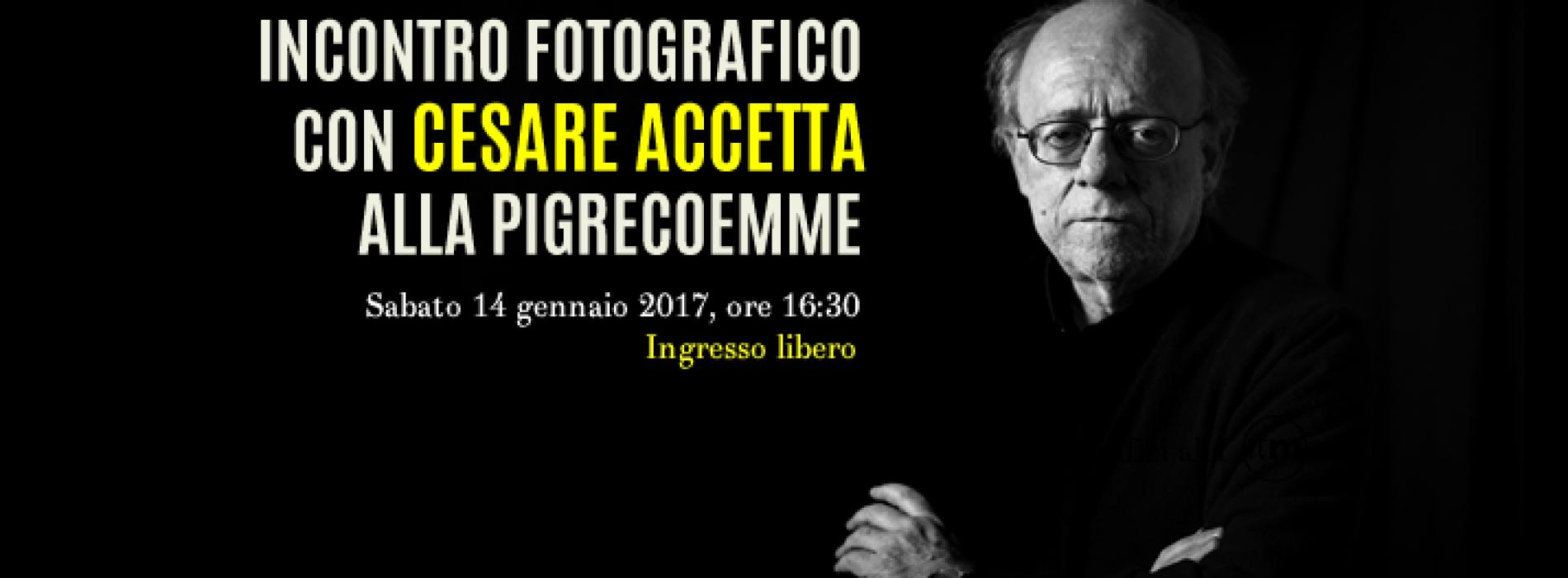 Luca Sorbo incontra Cesare Accetta, il signore della luce