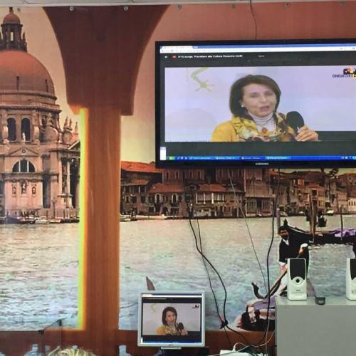 Pjatigorsk, Russia. OndaWebTv dà lezioni di italiano