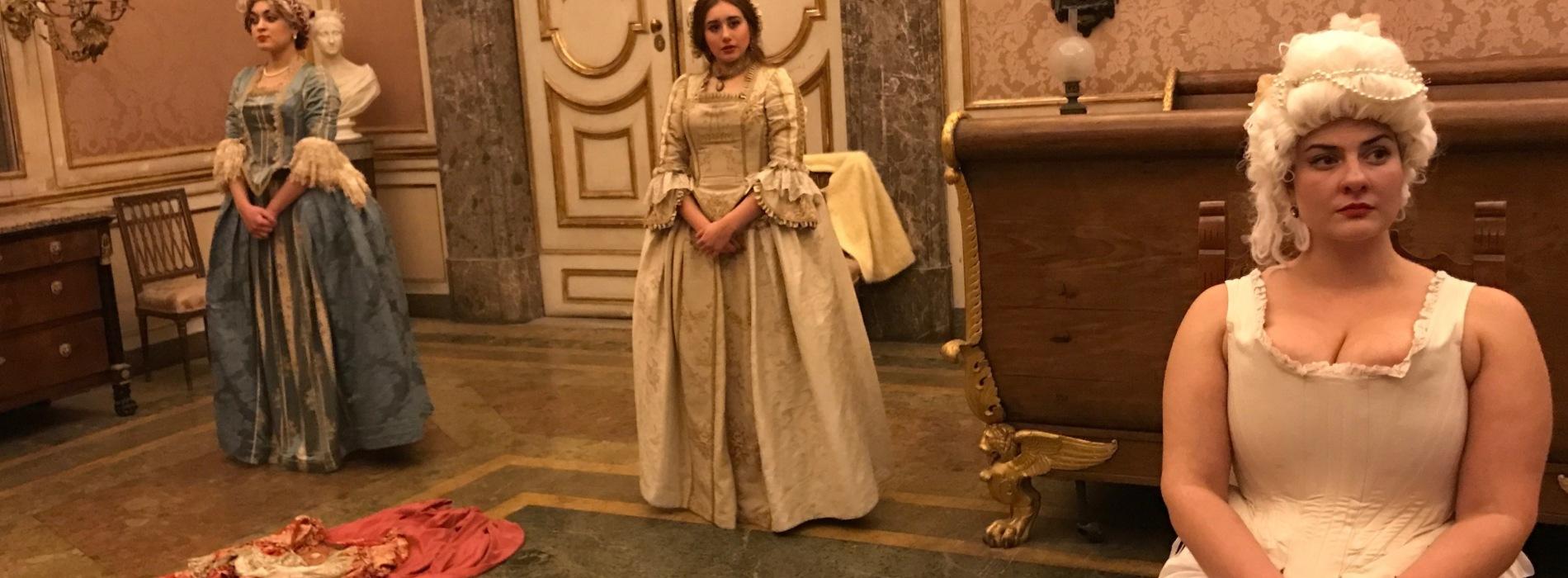 La vestizione di Maria Carolina, che spettacolo alla Reggia