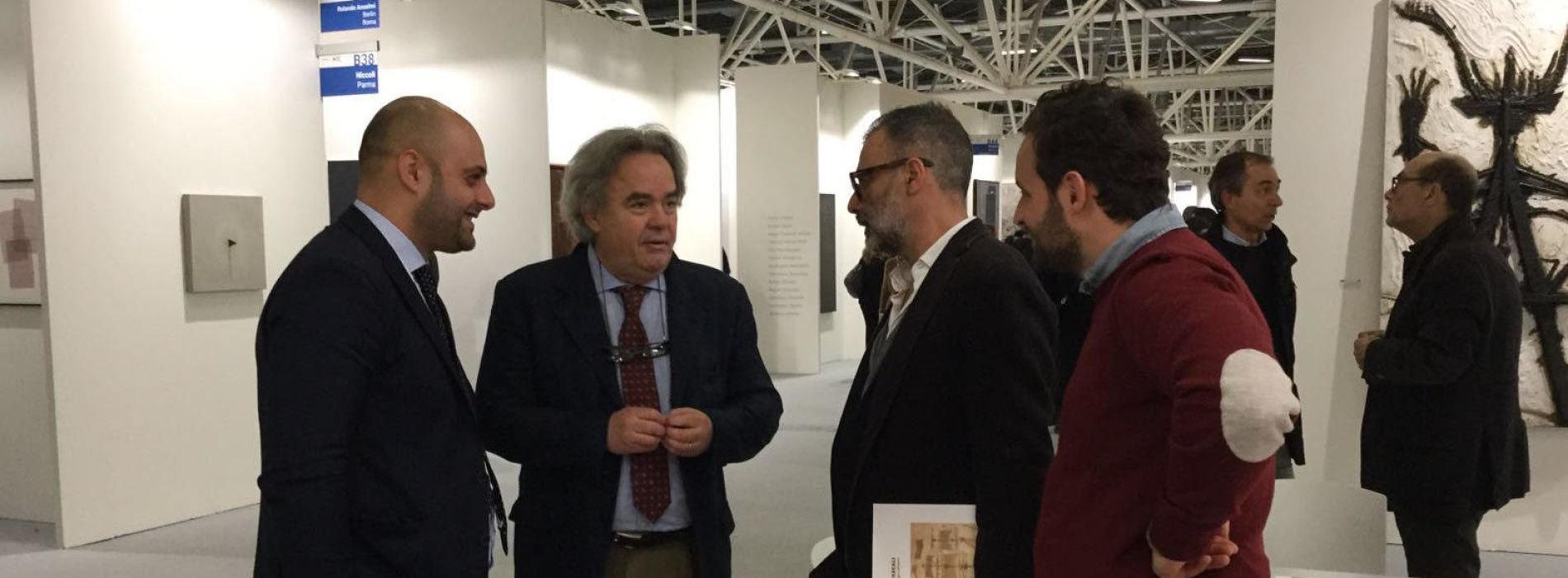 Felicori e Bassolino, incontri ad Arte Fiera da Nicola Pedana