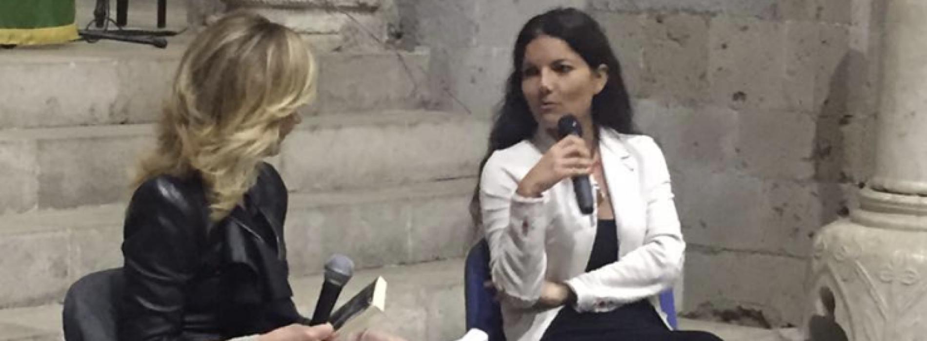 I Bambini a Metà di Angela Iantosca, incontro in Canonica