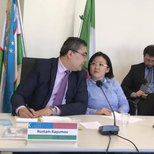 Caserta è pronta a collaborare con l'Uzbekistan