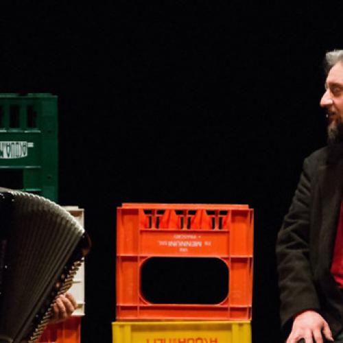 Laika, il povero Cristo di Ascanio Celestini al Teatro Garibaldi