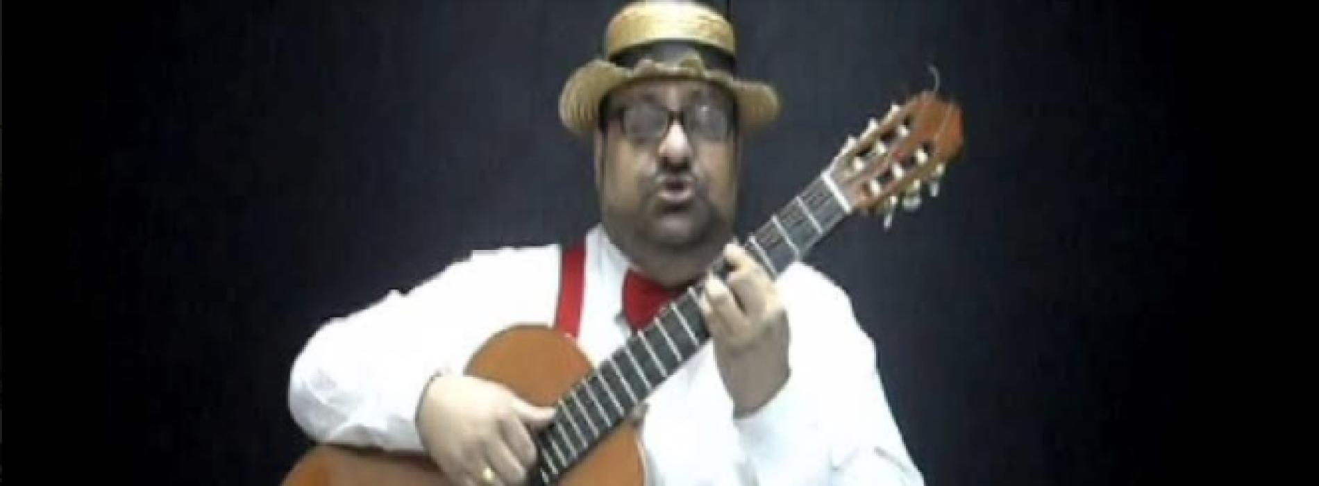 Pippo Infante al Cts, un comico del Regno di Napoli a Caserta