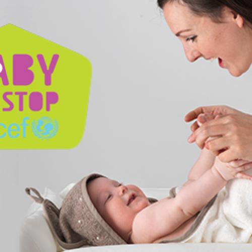 Alla Reggia di Caserta il primo baby Pit Stop Unicef
