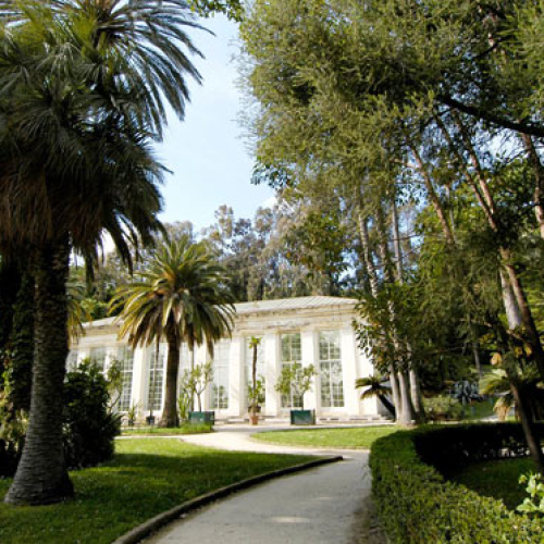 Una sovrana in giardino, conversazione alla Reggia di Caserta