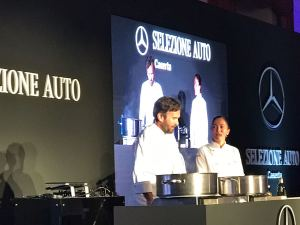 Cracco, Marziale, show cooking