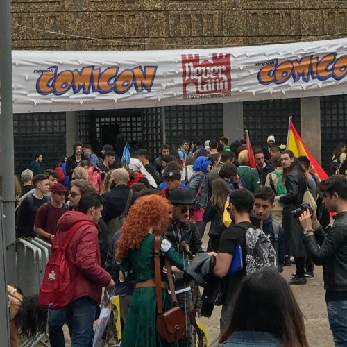 Comicon Napoli, in giro tra i cosplay nella Mostra d'Oltremare