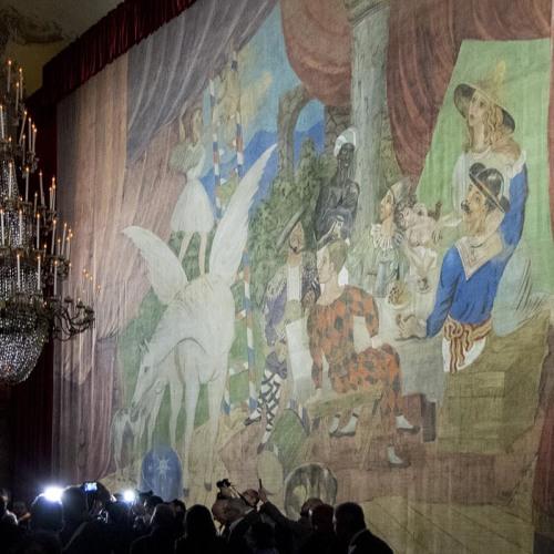 """Pablo Picasso a Pompei. E la sua """"Parade"""" vive a Capodimonte"""