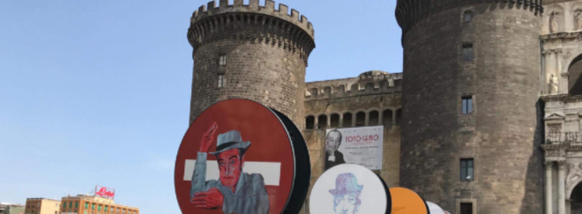 'O Maggio a Totò, per un mese a Napoli monumenti sorridenti