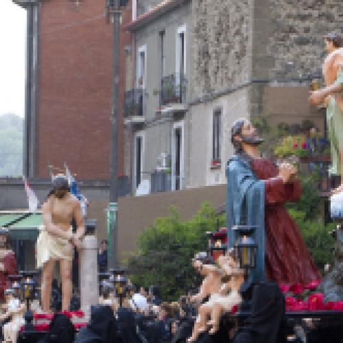 Sessa Aurunca, una comunità si mobilita per il venerdì santo