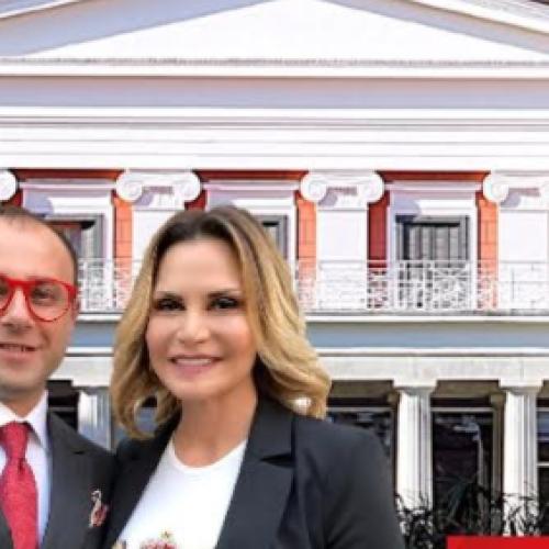 Napoli Moda Design. Opening a Villa Pignatelli