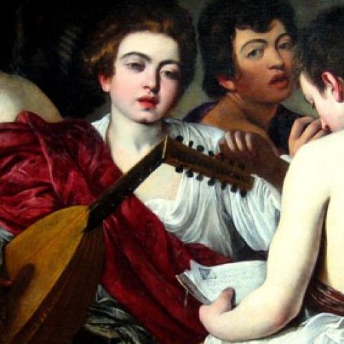 """L'ospite illustre a Palazzo Zevallos,  """"I musici"""" di Caravaggio"""