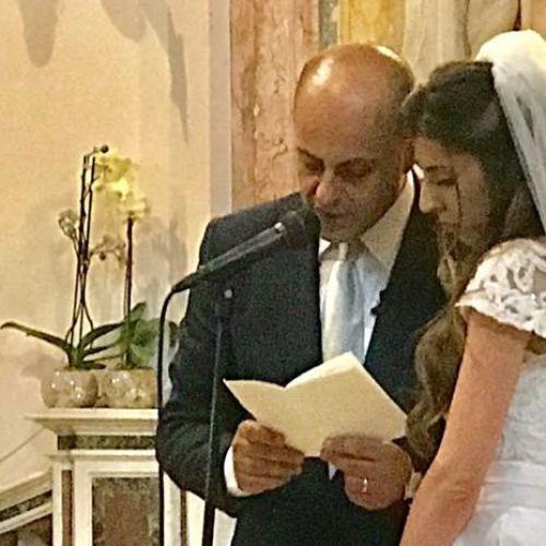 Art wedding, le nozze di Nicola Pedana ed Emilia Buoninconti