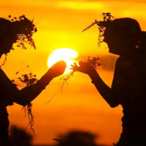 I riti del solstizio. La Danza del Sole