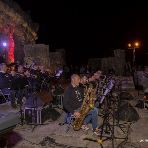 Jazz, la big band di Pietro Condorelli all'Anfiteatro Campano