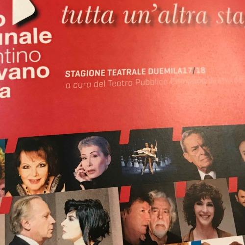 Teatro Comunale. Nuova stagione 2017/18