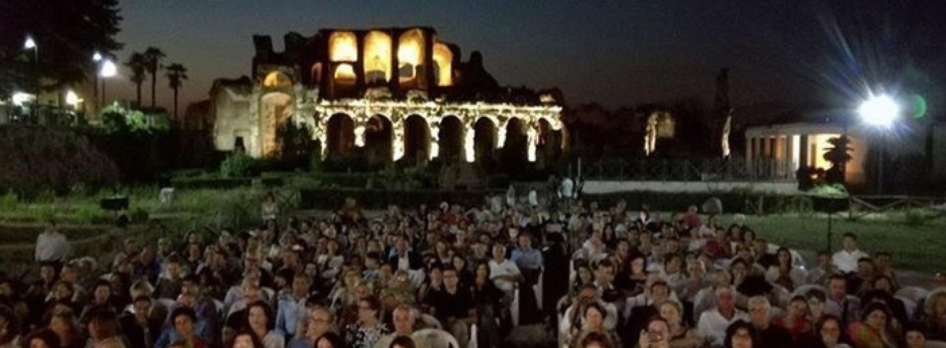 Sera per Fausto, all'Anfiteatro Campano si ricorda Mesolella