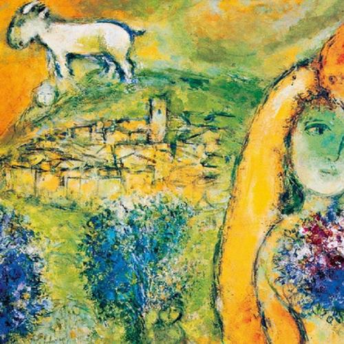 Sorrento, a Villa Fiorentino i colori dell'anima di Marc Chagall