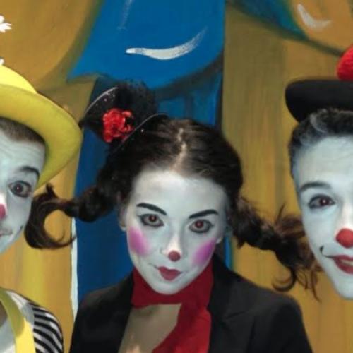 Arrivano i clown! Villa Giaquinto, un palcoscenico… naturale