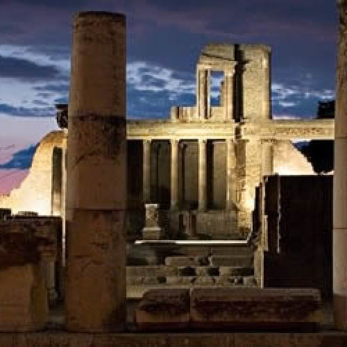 Una notte a Pompei, l'antichità sotto le stelle