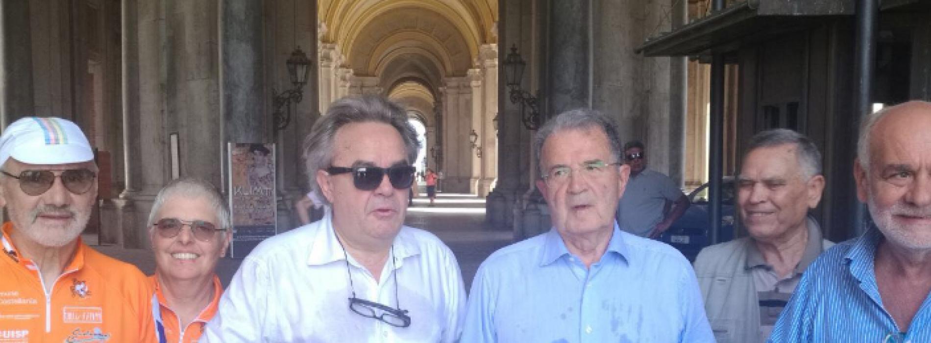 Reggia, nel Cannocchiale ecco Romano Prodi e Mauro Felicori