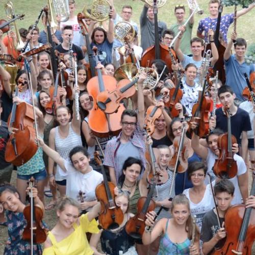 Anfiteatro Campano, Tamburi di Pace per l'orchestra europea
