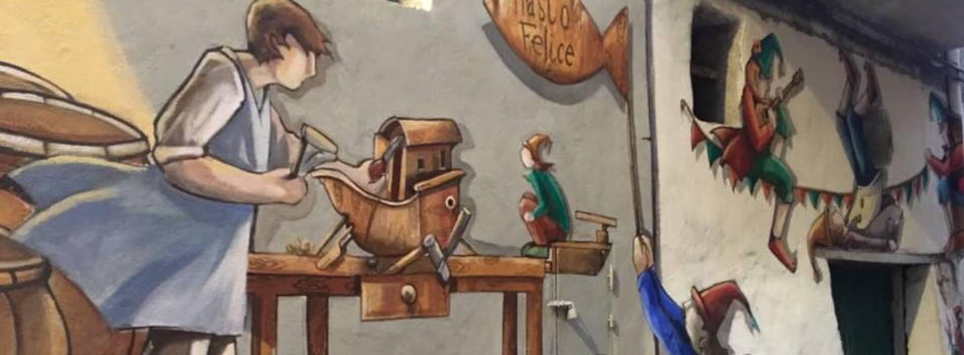 Street art in Terra di Lavoro, mazzamaurielli invadono Valogno