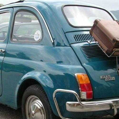 La Fiat 500, la più amata dagli italiani. A Caserta il raduno