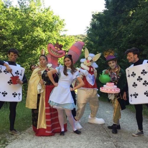 Sarà un incontro fantastico, Alice nel bosco delle meraviglie
