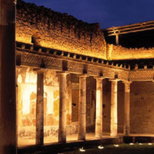 Oplontis by-night, sotto il Vesuvio i fasti della Villa di Poppea