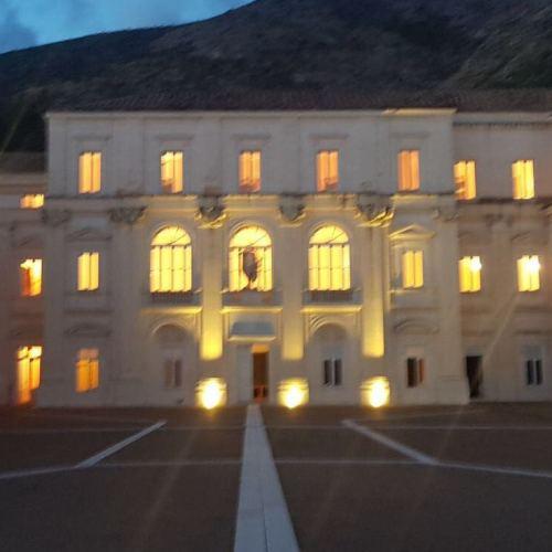 Boom di prenotazioni per il Belvedere di San Leucio by night
