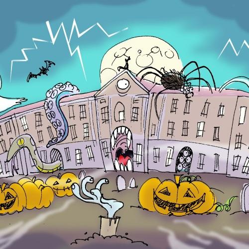 Halloween a Caserta, notte degli orrori all'ombra della Reggia