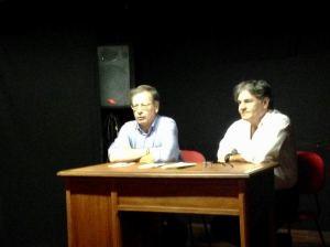 Enzo Battarra e Angelo Bove