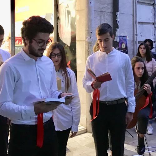 #ioleggoperché, a Caserta i lettori giannoniani alla Feltrinelli