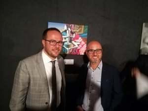 Roberto Corsale e Gennaro Caiazza alla Biennale d'Arte Contemporanea