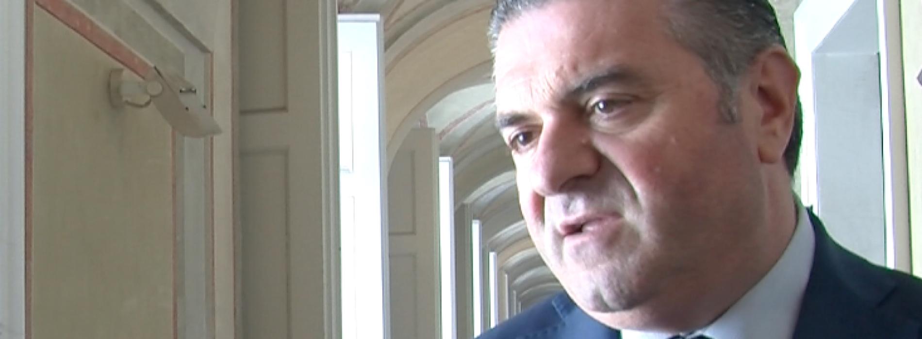 La melannurca. Francesco Alfieri delegato Agricoltura Regione Campania
