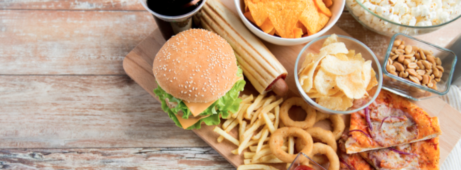 Stop junk food! L'allarme viene dall'Università Luigi Vanvitelli