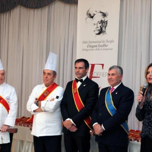 Limatola, cerimonia in Castello per i discepoli dell'alta cucina