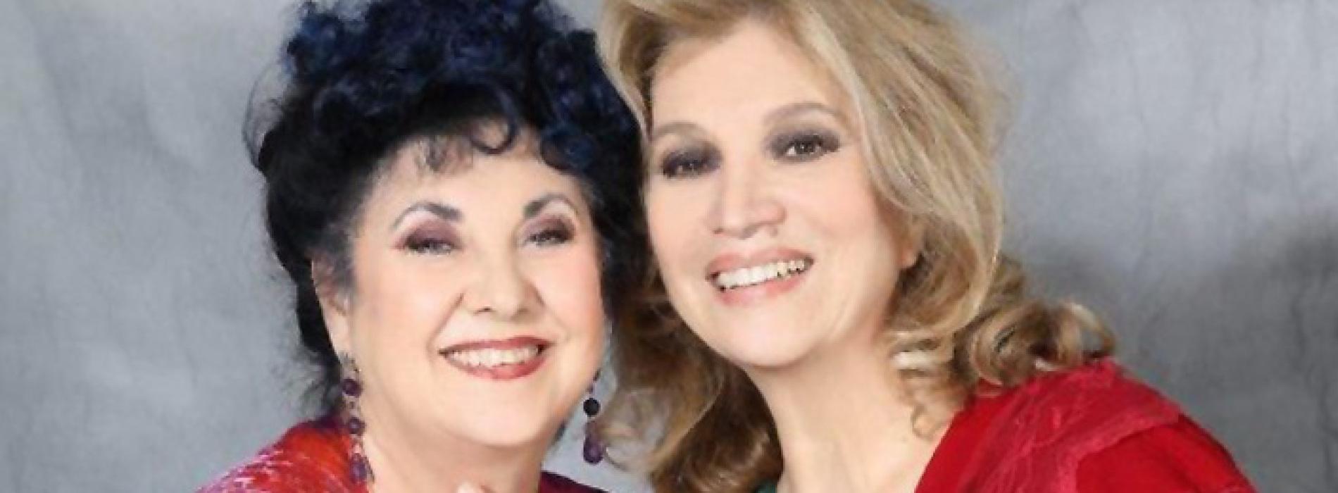 Capua, Marisa Laurito e Iva Zanicchi sono le due donne in fuga