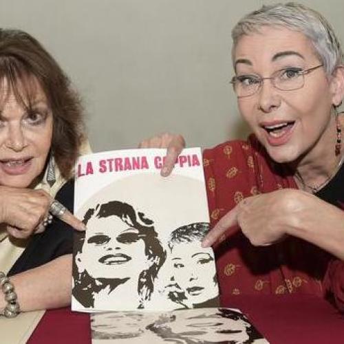 Caserta, Claudia Cardinale e Ottavia Fusco signore in Salotto