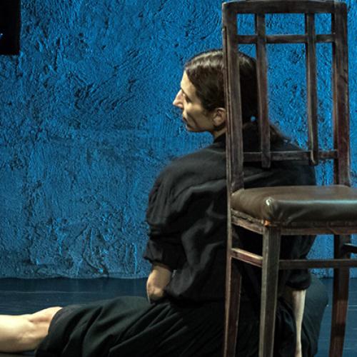 Napoli. Teatro Nuovo, Accabadora dalla libreria alla scena