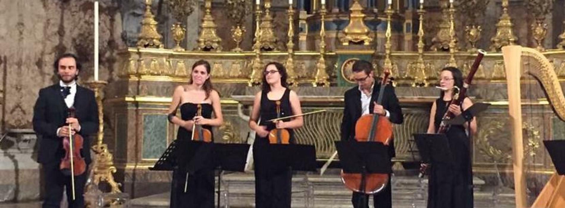 Reggia di Caserta. Concerto dell'ensemble Arcadia Ritrovata