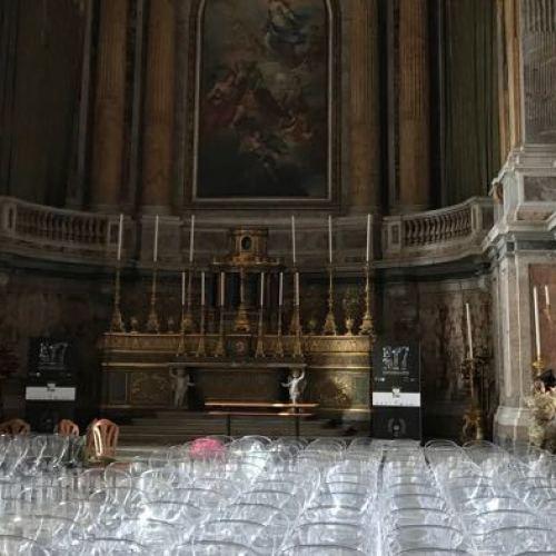 Caserta, un concerto a misura di Regina. In Cappella Palatina